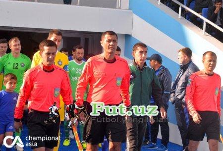 Superliga: 3-tur o'yinlarini boshqaradigan hakamlar malum