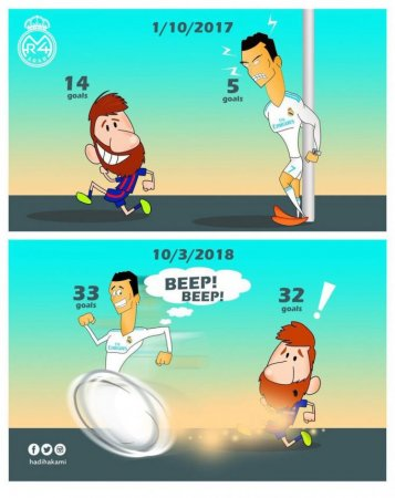 Karikatura: Beep, beep!