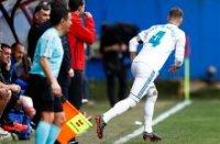 """Ramos """"Eybar""""ga qarshi o'yin paytida maydonni tark etdi. Nega?"""