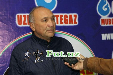 """Hakim Fayziev: """"Futbolda mag'lub bo'lmaydigan jamoa yo'q"""""""