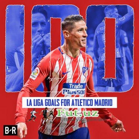 Torres Ispaniya chempionatida 100ta gol urdi
