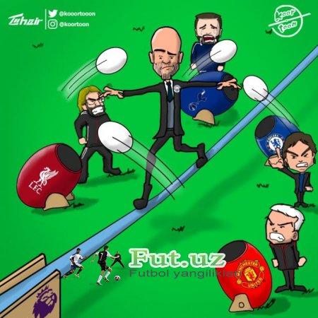 Karikatura: Dorboz Gvardiola