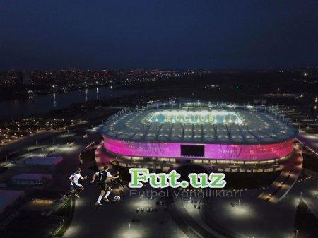 Rossiyadagi 3ta superstadion foydalanishga tayyor FOTO