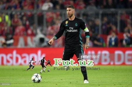 """Ramos: """"Real"""" qarshi hujumda """"Bavariya""""ni ushlashi mumkin"""""""