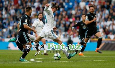 """""""Real Madrid"""" o'z uyida """"Selta""""ni yanchib tashladi"""