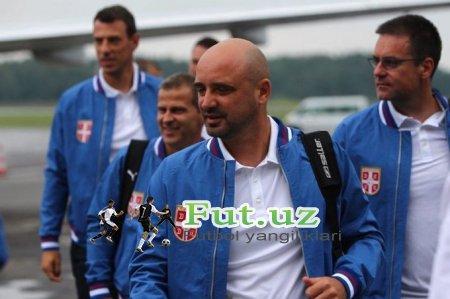 Serbiya terma jamoasi Rossiyaga etib keldi (+FOTO)