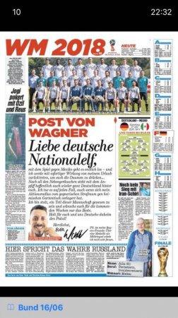 """""""Bavariya"""" futbolchisining Germaniyaga yozgan tasirli maktubi"""