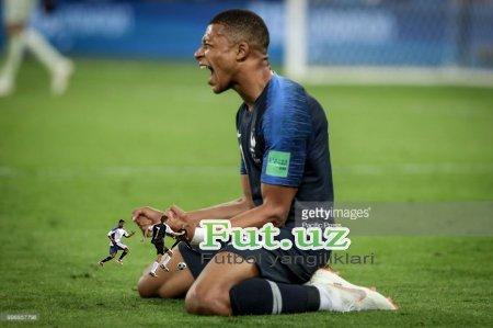 Bilasizmi? Franciya Jahon chempioni bo'lganida Mbappe tug'ilmagan edi