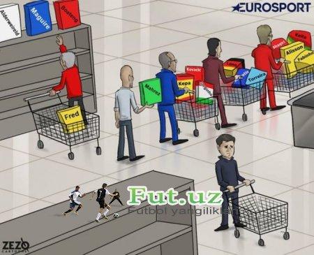 Karikatura: APLda bugun transfer oynasi yopiladi
