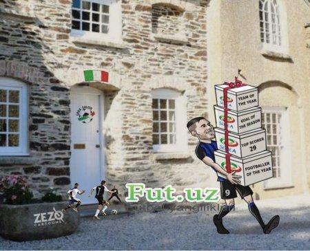 Karikatura: Ikardi barcha sovrinlarni olib ketdi