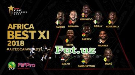 Afrikaning 2018 yildagi eng yaxshi futbolchisi aniqlandi